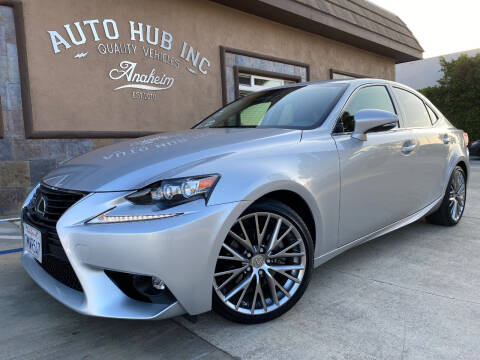 2015 Lexus IS 250 for sale at Auto Hub, Inc. in Anaheim CA
