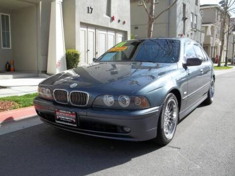 2001 BMW 5 Series for sale at Top Notch Auto Sales in San Jose CA