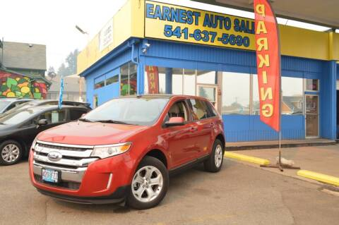 2012 Ford Edge for sale at Earnest Auto Sales in Roseburg OR
