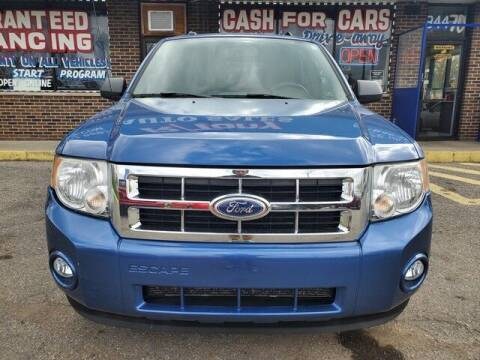 2010 Ford Escape for sale at R Tony Auto Sales in Clinton Township MI