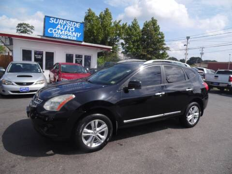 2012 Nissan Rogue for sale at Surfside Auto Company in Norfolk VA