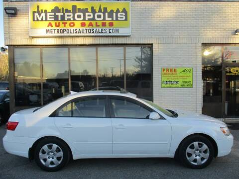 2009 Hyundai Sonata for sale at Metropolis Auto Sales in Pelham NH