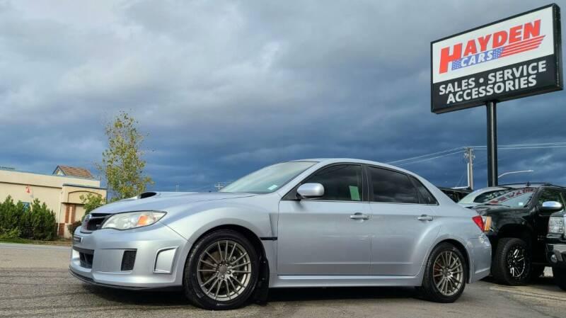 2014 Subaru Impreza for sale at Hayden Cars in Coeur D Alene ID