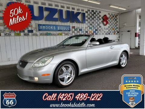 2002 Lexus SC 430 for sale at BROOKS BIDDLE AUTOMOTIVE in Bothell WA