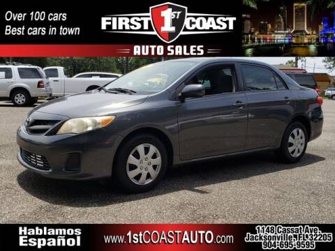 2011 Toyota Corolla for sale at 1st Coast Auto -Cassat Avenue in Jacksonville FL