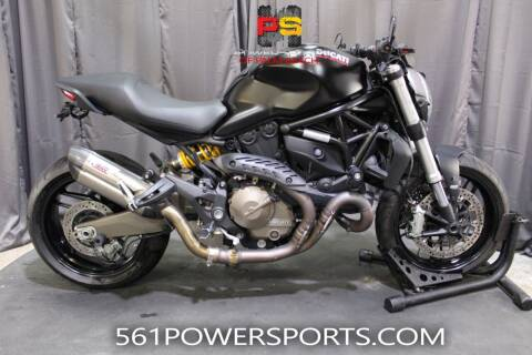 2015 Ducati Monster 821 Dark for sale at Powersports of Palm Beach in Hollywood FL
