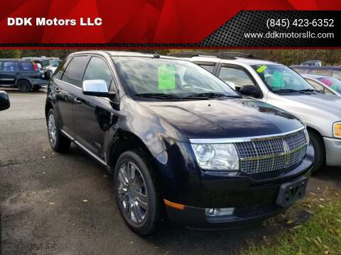 2008 Lincoln MKX for sale at DDK Motors LLC in Rock Hill NY