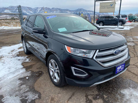2015 Ford Edge for sale at 4X4 Auto in Cortez CO