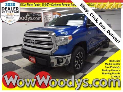2017 Toyota Tundra for sale at WOODY'S AUTOMOTIVE GROUP in Chillicothe MO