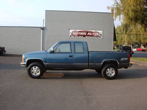 1991 Chevrolet C/K 1500 Series for sale at Motion Autos in Longview WA