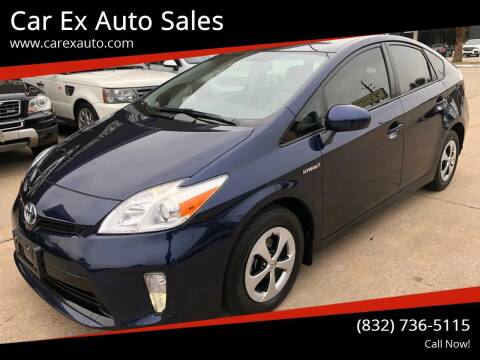 2013 Toyota Prius for sale at Car Ex Auto Sales in Houston TX