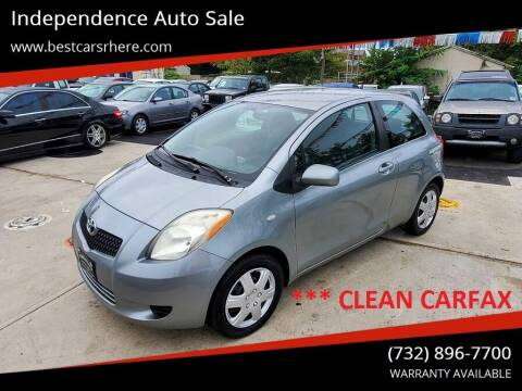 2007 Toyota Yaris for sale at Independence Auto Sale in Bordentown NJ
