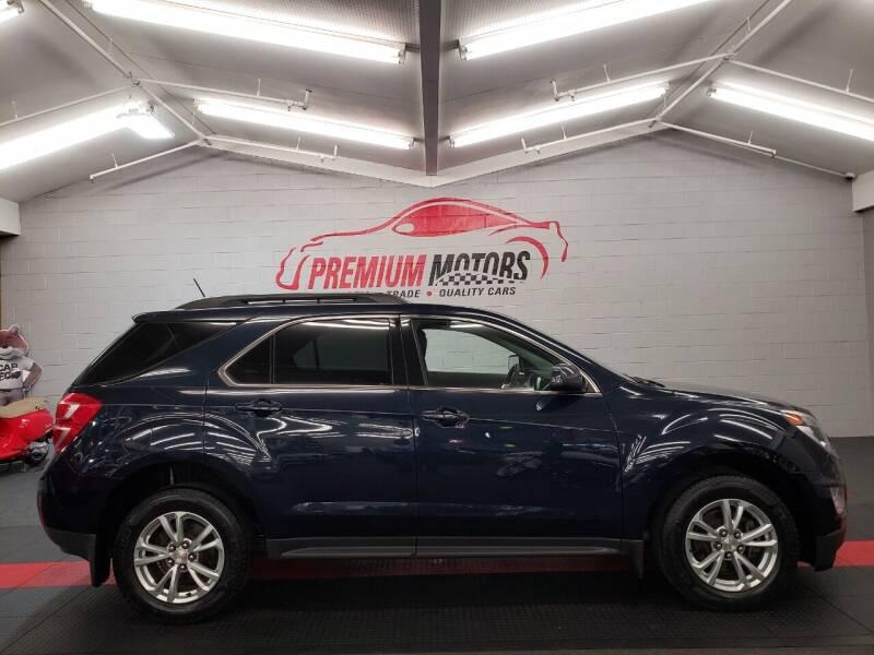 2016 Chevrolet Equinox for sale at Premium Motors in Villa Park IL
