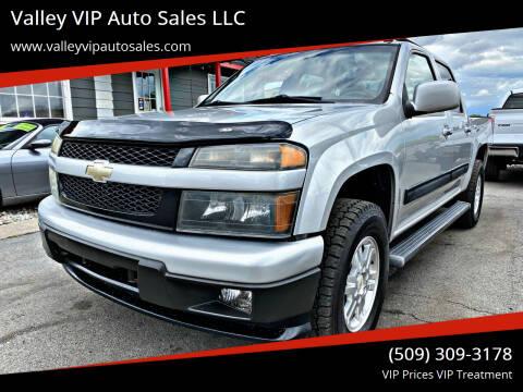 2010 Chevrolet Colorado for sale at Valley VIP Auto Sales LLC in Spokane Valley WA