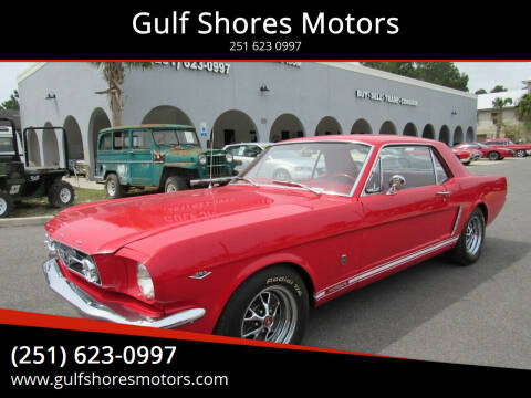1964 Ford Mustang for sale at Gulf Shores Motors in Gulf Shores AL