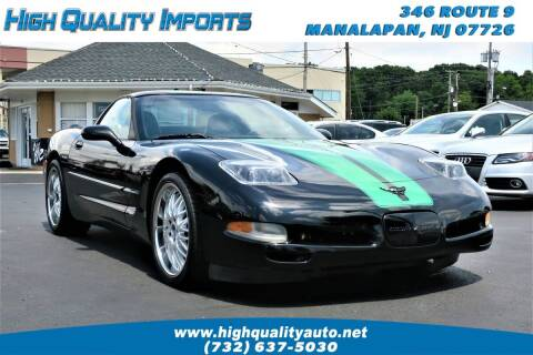 2000 Chevrolet Corvette for sale at High Quality Imports in Manalapan NJ