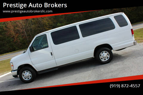 2013 Ford E-Series Wagon for sale at Prestige Auto Brokers in Raleigh NC