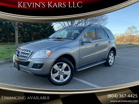 2011 Mercedes-Benz M-Class for sale at Kevin's Kars LLC in Richmond VA