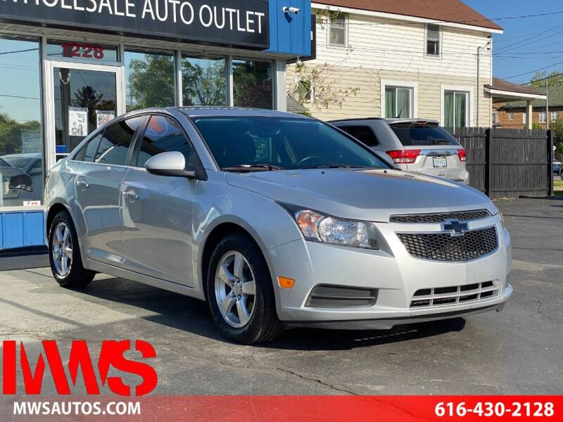 2014 Chevrolet Cruze for sale at MWS Wholesale  Auto Outlet in Grand Rapids MI