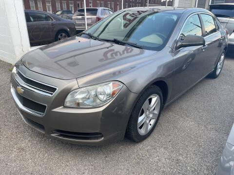 2012 Chevrolet Malibu for sale at Turner's Inc - Main Avenue Lot in Weston WV