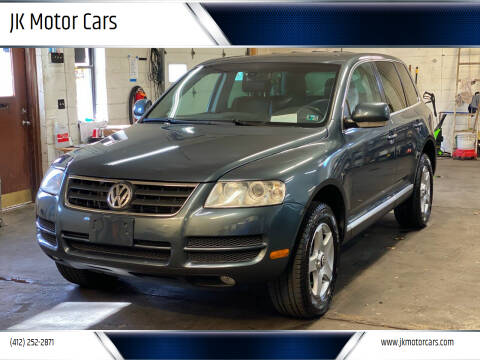 2006 Volkswagen Touareg for sale at JK Motor Cars in Pittsburgh PA