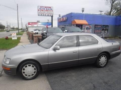 1997 Lexus LS 400 for sale at City Motors Auto Sale LLC in Redford MI