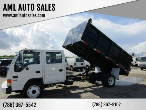 2005 Isuzu NPR-HD for sale at AML AUTO SALES - Dump Trucks in Opa-Locka FL