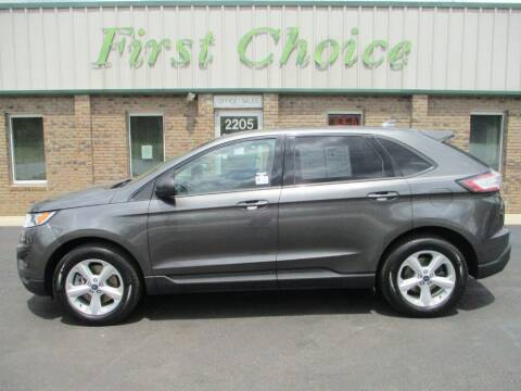 2017 Ford Edge for sale at First Choice Auto in Greenville SC
