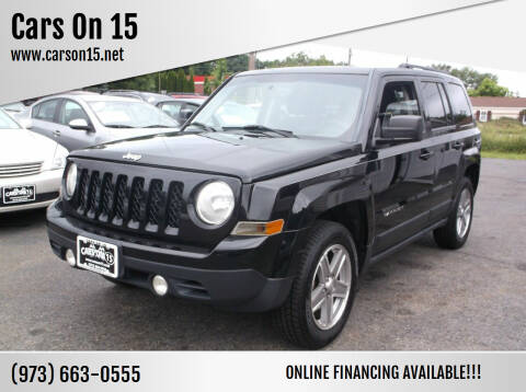 2012 Jeep Patriot for sale at Cars On 15 in Lake Hopatcong NJ