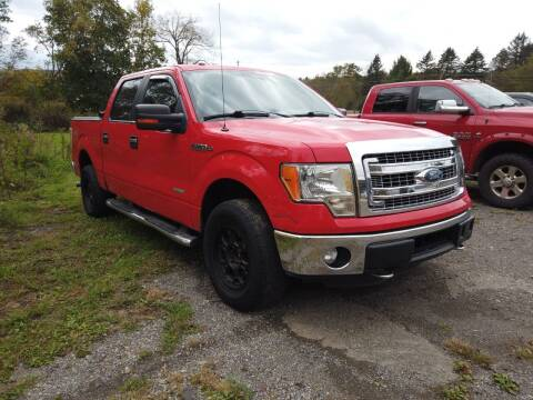 2013 Ford F-150 for sale at RS Motors in Falconer NY