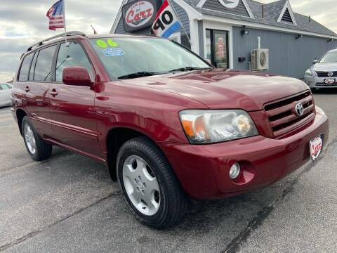 2006 Toyota Highlander for sale at Cape Cod Carz in Hyannis MA