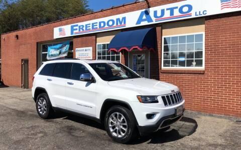 2014 Jeep Grand Cherokee for sale at FREEDOM AUTO LLC in Wilkesboro NC