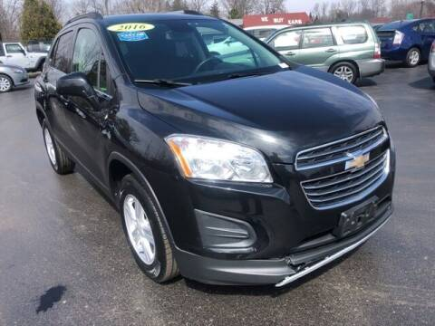 2016 Chevrolet Trax for sale at Newcombs Auto Sales in Auburn Hills MI