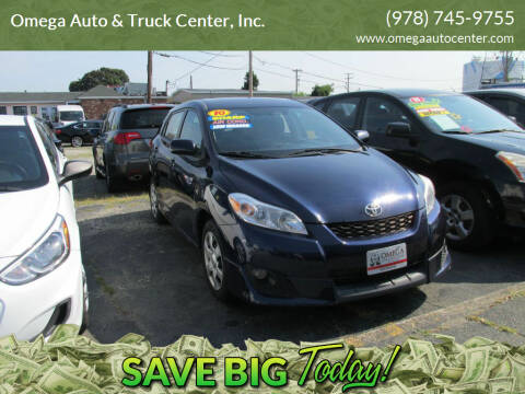 2010 Toyota Matrix for sale at Omega Auto & Truck Center, Inc. in Salem MA