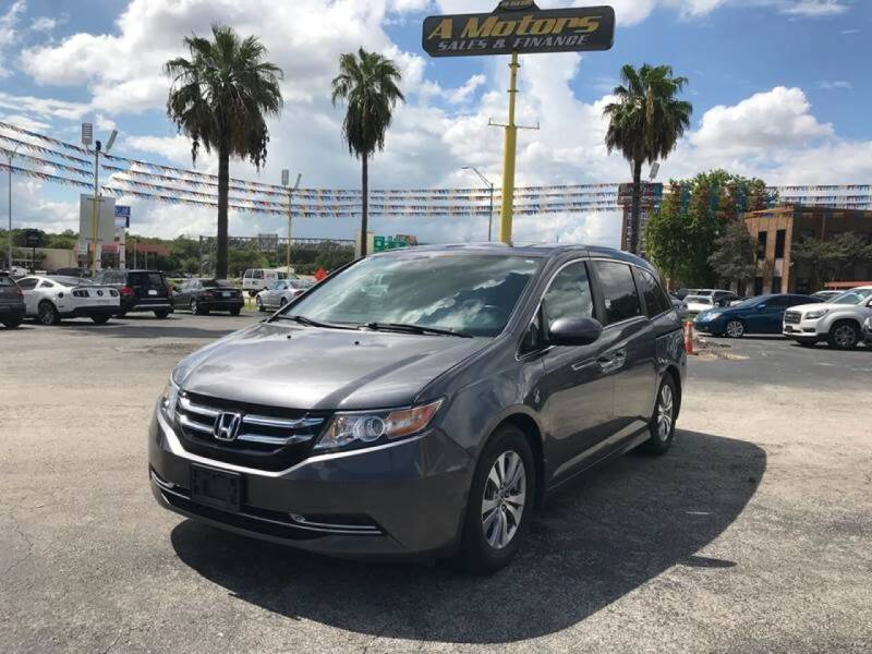 2014 Honda Odyssey for sale at A MOTORS SALES AND FINANCE in San Antonio TX