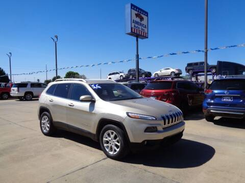 2014 Jeep Cherokee for sale at America Auto Inc in South Sioux City NE