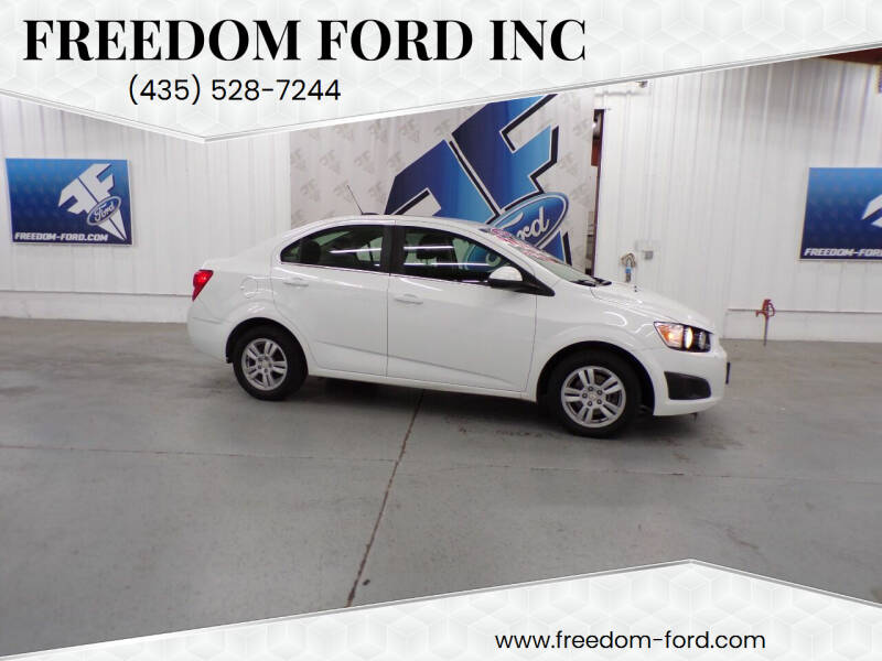 2016 Chevrolet Sonic for sale at Freedom Ford Inc in Gunnison UT