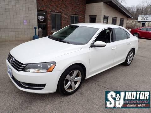 2012 Volkswagen Passat for sale at S & J Motor Co Inc. in Merrimack NH