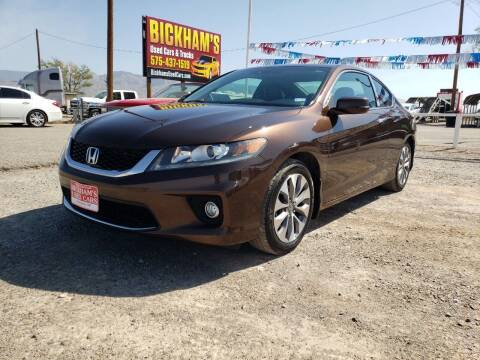 2014 Honda Accord for sale at Bickham Used Cars in Alamogordo NM
