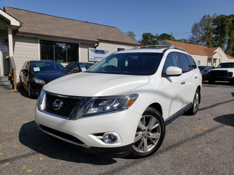 2014 Nissan Pathfinder for sale at M & A Motors LLC in Marietta GA