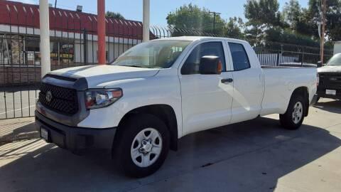 2018 Toyota Tundra for sale at DOYONDA AUTO SALES in Pomona CA