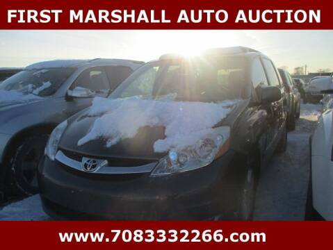 2010 Toyota Sienna for sale at First Marshall Auto Auction in Harvey IL