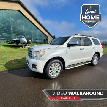2008 Toyota Sequoia for sale at McMinnville Auto Sales LLC in Mcminnville OR
