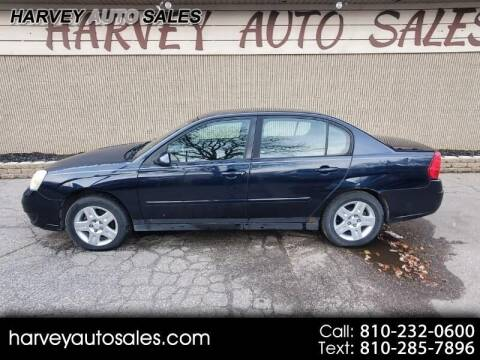2007 Chevrolet Malibu for sale at Harvey Auto Sales, LLC. in Flint MI