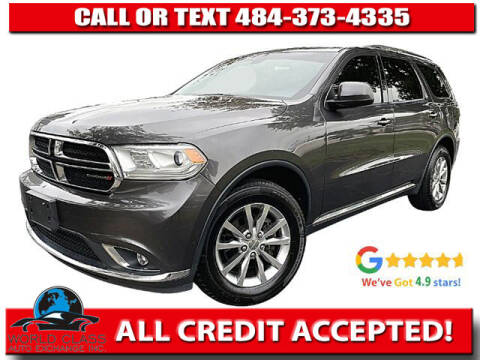 2018 Dodge Durango for sale at World Class Auto Exchange in Lansdowne PA