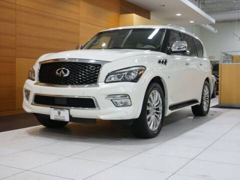 2015 Infiniti QX80 for sale at PORSCHE OF NORTH OLMSTED in North Olmsted OH