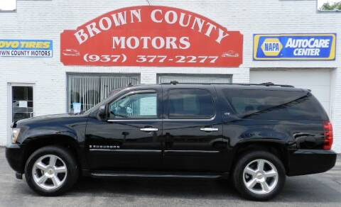2008 Chevrolet Suburban for sale at Brown County Motors in Russellville OH