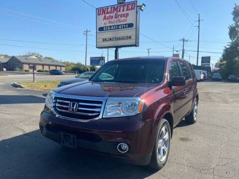 2014 Honda Pilot for sale at Unlimited Auto Group in West Chester OH