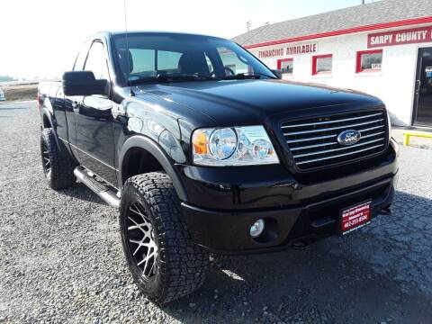 2008 Ford F-150 for sale at Sarpy County Motors in Springfield NE
