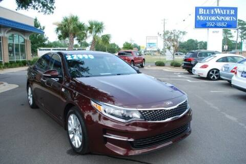 2018 Kia Optima for sale at BlueWater MotorSports in Wilmington NC